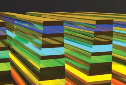nanostructure view of materials layers.